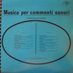 Amedeo Tommasi and Stefano Torossi - Musica Per Commenti Sonori- Tecnologia Elettronica (1986) Costanza Records [Italy] (CO 8604)
