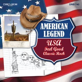 Stefano Torossi and Alessandro Varzi's American Legend: USA Feel Good Classic Rock (2012) Deneb Records [Italy] DNB 740