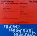 Antonio Sechi and Stefano Torossi - Strumentali - Infinito Orizzonte (1986) Nuovo Repertorio Editoriale [Italy] (NRE1068)