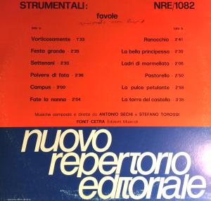 Antonio Sechi and Stefano Torossi - Strumentali - Favole (NRE 1082)