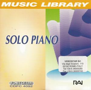 Antonio Sechi - Solo Piano (1997) Fonit Cetra-RAI