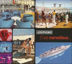 C'est merveilleux… (2007) (Reissue 2012) Luxophonic [France] (LUX077:1), a compilation