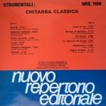 Claudio Scozzafava - Strumentali - Chitarra classica (1988) Fonit Cetra (NRE 1196)