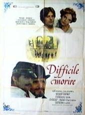 Difficile morire (1977) poster