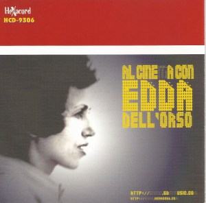 Edda Dell'Orso – Al Cinema Con Edda Dell'Orso (2002) [Italy] (HCD-9306) CD booklet
