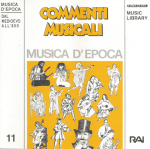 Commenti musicali - Musica d'epoca - Dal medioevo all'800 (1993) Fonit Cetra