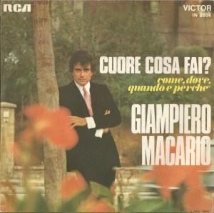 Giampiero Macario - Cuore cosa fai? - Come, dove, quando perche (1962) RCA