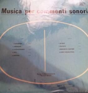 Giancarlo Gazzani - Musica per commenti sonori (1970s) Costanza Records (CO 10010)