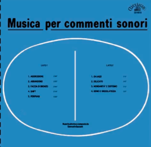 Giancarlo Gazzani - Musica per commenti sonori (1974) Costanza Records