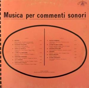 Giancarlo Gazzani - Musica per commenti sonori (1986) Costanza Records (CO 8602)