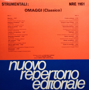 Giancarlo Gazzani - Strumentali: omaggi (classico) (1988)