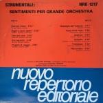Giuliano Sorgini - Strumentali - Sentimenti per grande orchestra (1989) Fonit Cetra (NRE 1217)