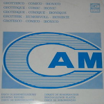 Grottesco - Comico - Ironico (1972) compilation LP CAM [Italy] (CML 009)