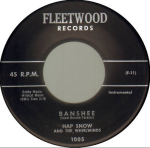 Hap Snows Whirlwinds - Banshee and Bottoms Up (1959) Fleetwood Records (1005) 45 Single