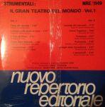 Il gran teatro del mondo, Vol. 1 (1988) Fonit Cetra (NRE 1149)