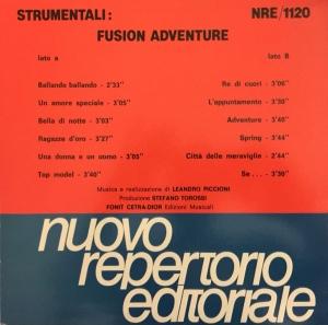 Leandro Piccioni - Strumentali: Fusion Adventure (1987) NRE 1120