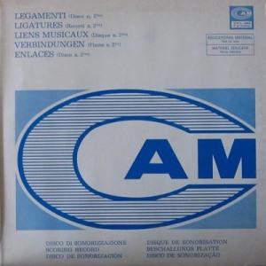 Legamenti (Disco n. 2) (1975) CAM compilation