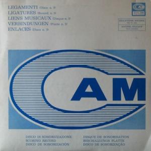 Legamenti (Disco n. 3) (1975) CAM (CML 088)