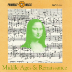 Middle Age and Renaissance (1991) Primrose Music PRCD 011
