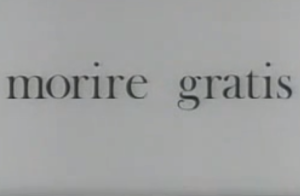 Morire gratis (1968)