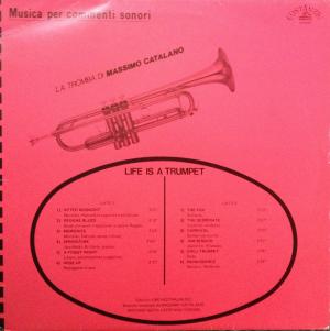 Max Catalano, Antonio Sechi, and Stefano Torossi - Musica per commenti: Life Is A Trumpet (1987)