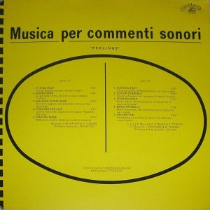 Musica per commenti sonori - Feelings (1986 Reissue) Costanza Records