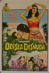 Odissea nuda (Nude Odyssey) (1962) poster