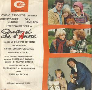 Stefano Torossi - Questo si che è amore (1977) CAM back
