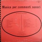 Roberto Anselmi, Claudio Maioli, and Stefano Torossi - Musica per commenti sonori - Per tutte le cccasioni (1987) Costanza Records