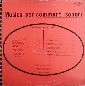 Roberto Anselmi, Claudio Maioli, and Stefano Torossi - Musica per Commenti Sonori Per Tutte Le Occasioni (1987) Costanza Records [Italy] (CO 8702)
