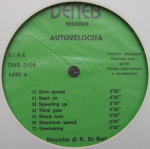 Romano Di Bari - Autovelocita - (mid-1970s) Deneb Records label A