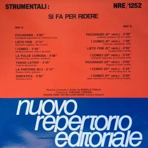Romolo Forlai - Strumentali - Si fa per ridere (1990) Fonit Cetra (NRE 1252)