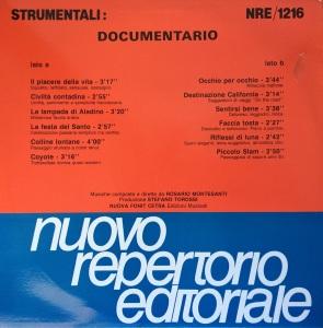 Rosario Montesanti - Strumentali - Documentario (1989) Fonit Cetra (NRE 1216)