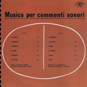Sandro Brugnolini and Stefano Torossi - Musica per commenti sonori (2016 Reissue) Schema