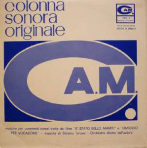 Stefano Torossi - È Stato Bello Amarti and Omicidio Per Vocazione (1968) Cam Records [Italy] (PRE 2)