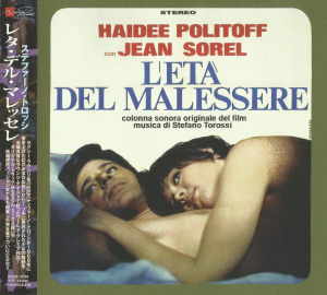 Stefano Torossi - L'età del malessere (The Age of Malaise) (1968) (reissue 2010) Verita Note [Japan]