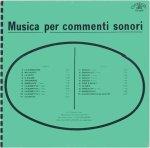 Stefano Torossi - Musica Per Commenti Sonori (1971) Costanza Records [Italy] (CO 10010)