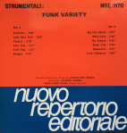 Luciano Dell'Aquila - Strumentali: Funk Variety (1988) Fonit Cetra (NRE 1170)