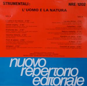 Strumentali - L'uomo E La Natura (1989) [Nuovo Repertorio Editoriale] [Italy] (CDRE 1305)