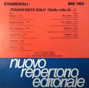 Strumentali - Pianoforte solo (Nello stile di...)