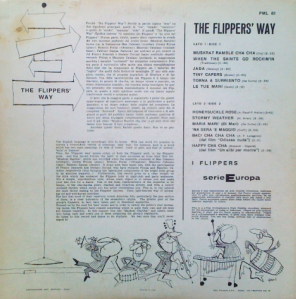 The Flipper's Way with The Flippers (1960) (PML 81 and PML-81) back