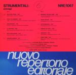 Antonio Sechi and Stefano Torossi - Strumentali - Paesaggi (1986) Nuovo Repertorio Editoriale [Italy] NRE 1067