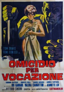 movie poster for Omicidio per vocazione aka l'Assassino ha le mani pulite (Deadly Inheritance) (1967)