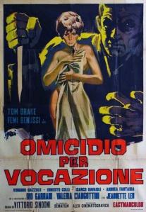 movie poster for Omicidio per vocazione aka l'Assassino ha le mani pulite (Deadly Inheritance) (1967)