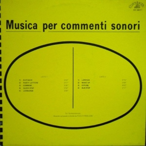 Puccio Roelens - Musica per commenti sonori - Lipstick (1979) Costanza Records (CO 10011)