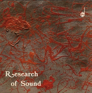 Puccio Roelens - Research of Sound (2015 Reissue) SONOR Music Editions (1976)