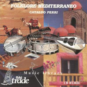 Cataldo Perri - Folklore mediterraneo (1999) Rai Trade CD RT2024 cover