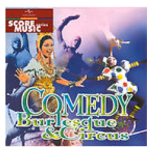 Comedy, Burlesque and Circus (2000?) compilation CD BMG Production Music (BPM3008)