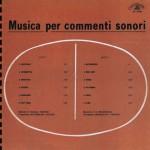 Musica per commenti sonori (1969) CO 10005