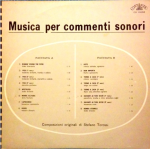 Stefano Torossi - Musica per commenti sonori (1968) Costanza Records (CO 10002)
